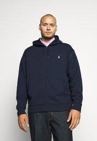 Polo Ralph Lauren Big & Tall - DOUBLE TECH HOOD - Zip-up hoodie - aviator navy - 0