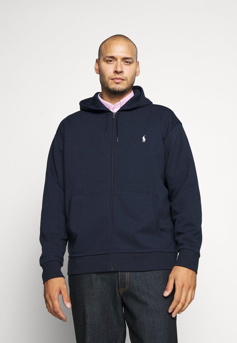 Polo Ralph Lauren Big & Tall - DOUBLE TECH HOOD - Zip-up hoodie - aviator navy