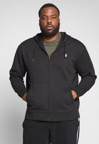 Polo Ralph Lauren Big & Tall - Zip-up hoodie - black - 0