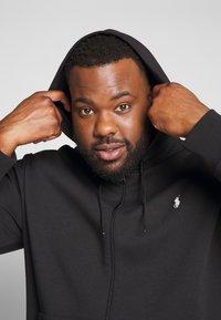 Polo Ralph Lauren Big & Tall - Zip-up hoodie - black - 3