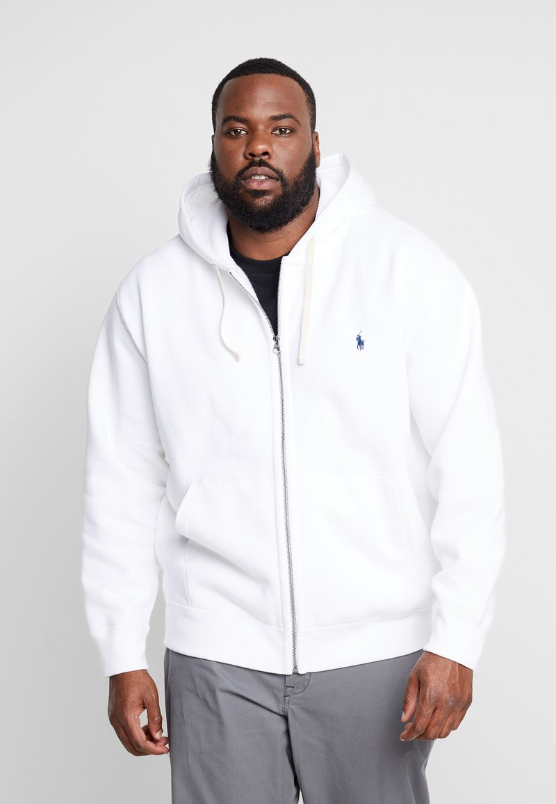 Polo Ralph Lauren Big & Tall - HOOD - Zip-up hoodie - white