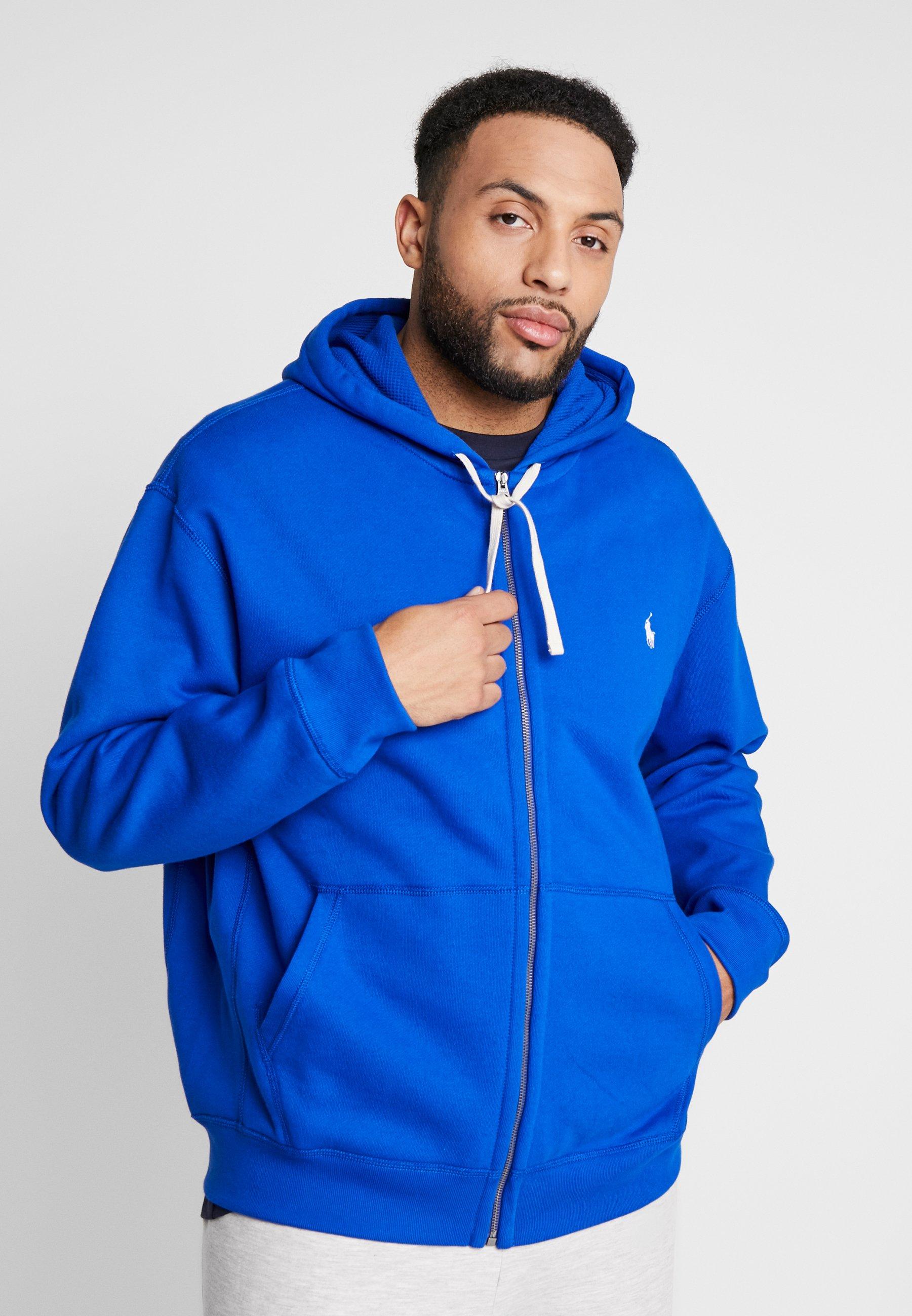 Polo Ralph Lauren Big & Tall HOOD - Bluza rozpinana - pacific royal