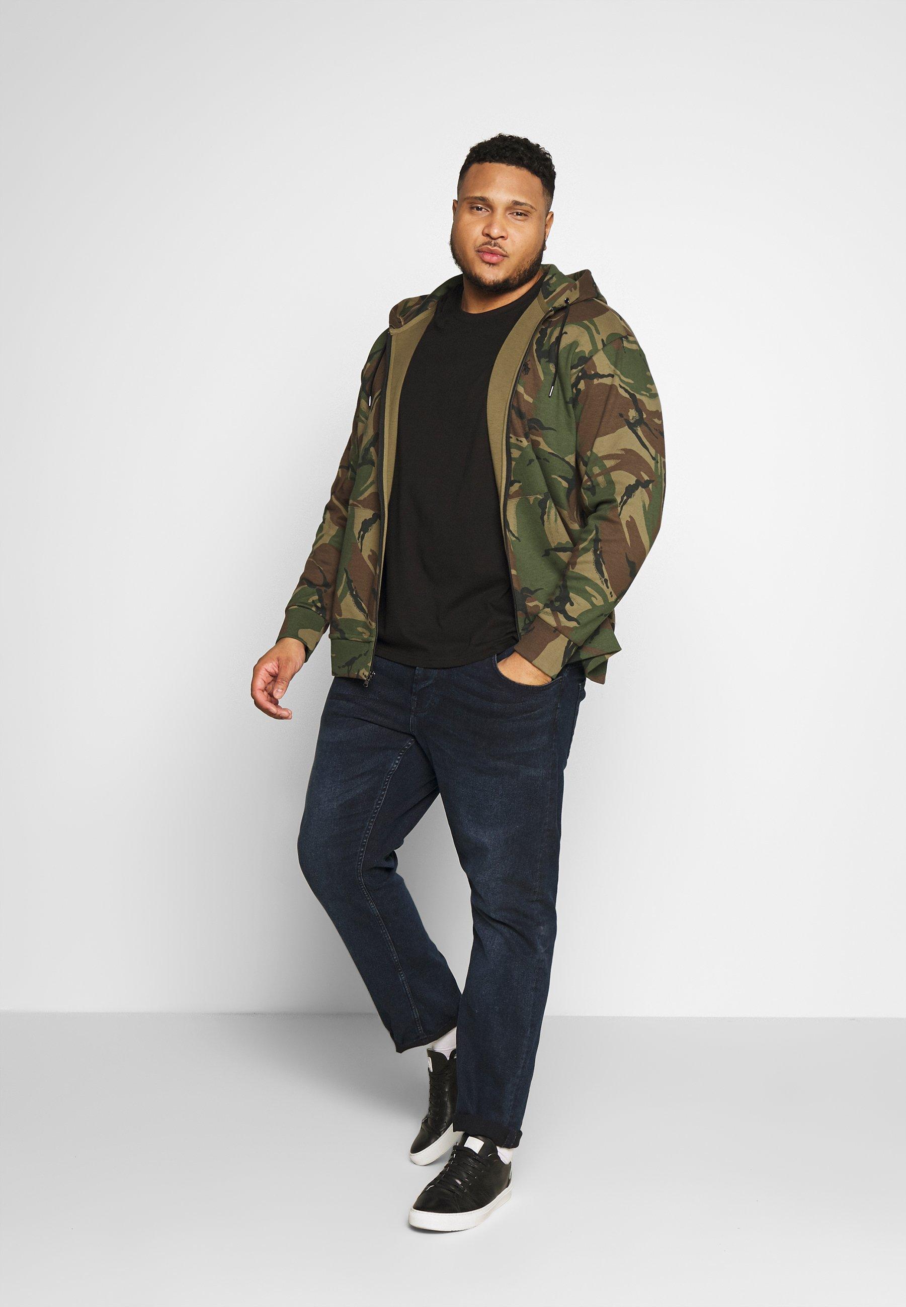 Polo Ralph Lauren Big & Tall DOUBLE TECH - Felpa aperta - british elmwood