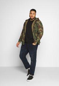 Polo Ralph Lauren Big & Tall - DOUBLE TECH - Zip-up hoodie - british elmwood - 1