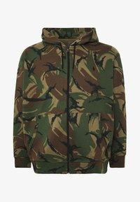 Polo Ralph Lauren Big & Tall - DOUBLE TECH - Zip-up hoodie - british elmwood - 4