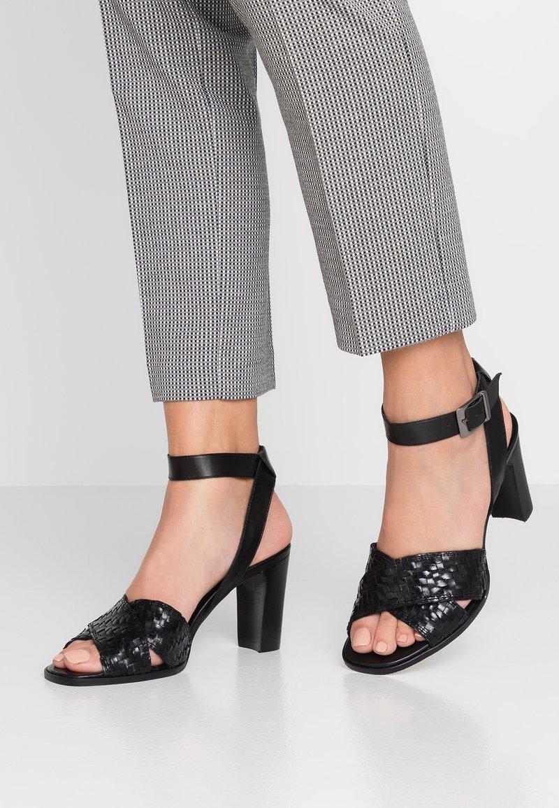 PERLATO - Sandals - noir