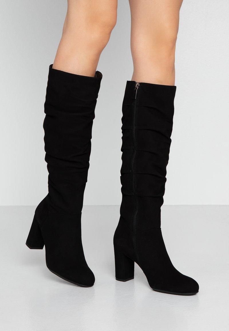 PERLATO - Vysoká obuv - noir