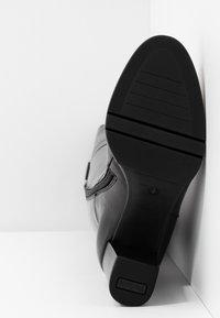PERLATO - Vysoká obuv - jamaika noir - 6