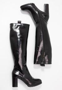 PERLATO - Vysoká obuv - jamaika noir - 3