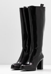 PERLATO - Vysoká obuv - jamaika noir - 4
