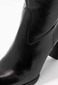PERLATO - Vysoká obuv - jamaika noir - 2