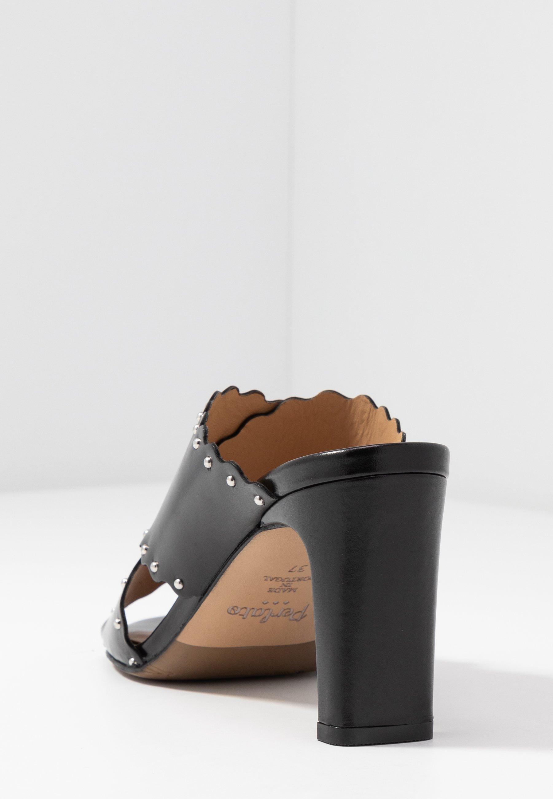 Perlato Slip-ins Med Klack - Jamaica Noir