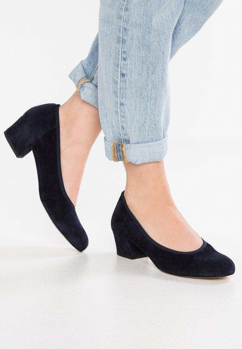 PERLATO - Classic heels - river