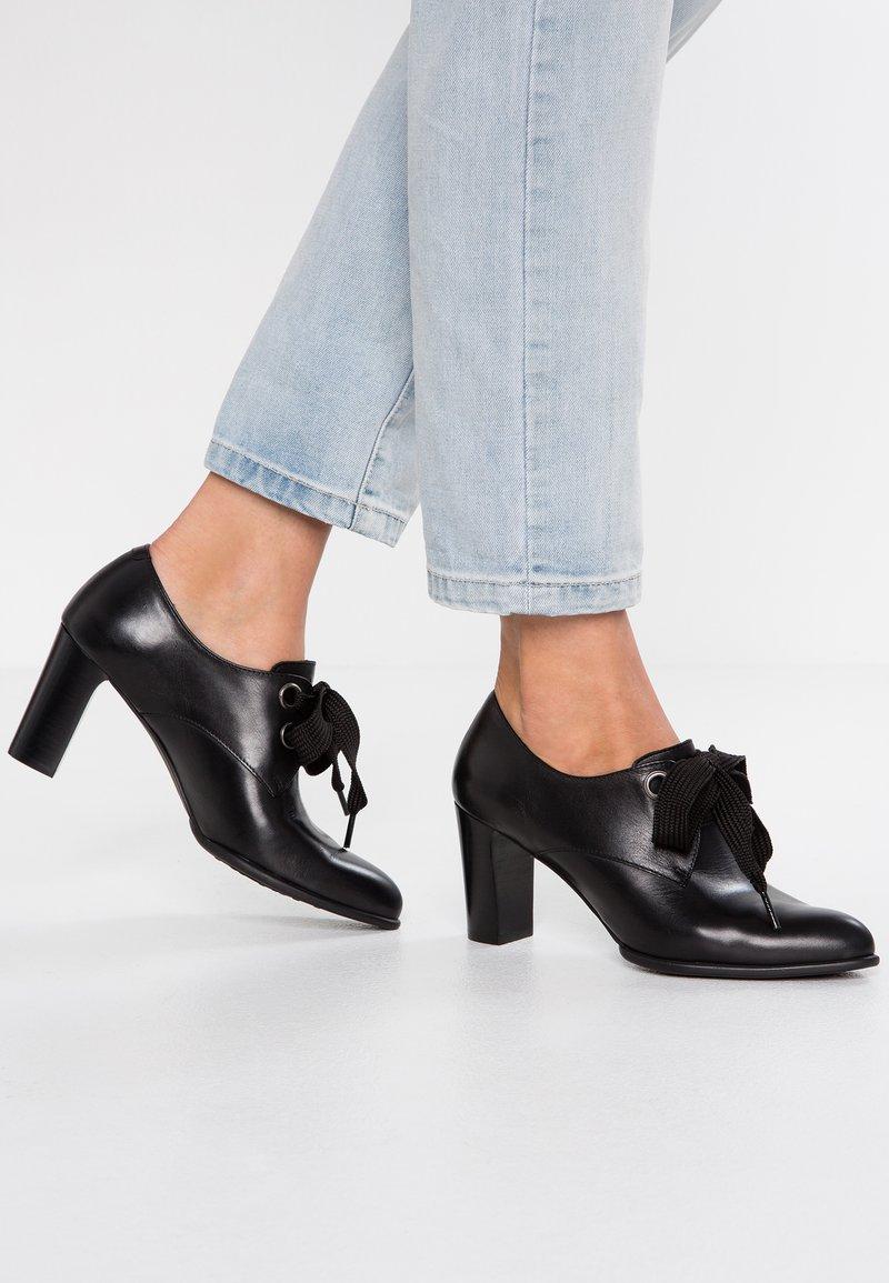 PERLATO - Ankle boots - siena noir