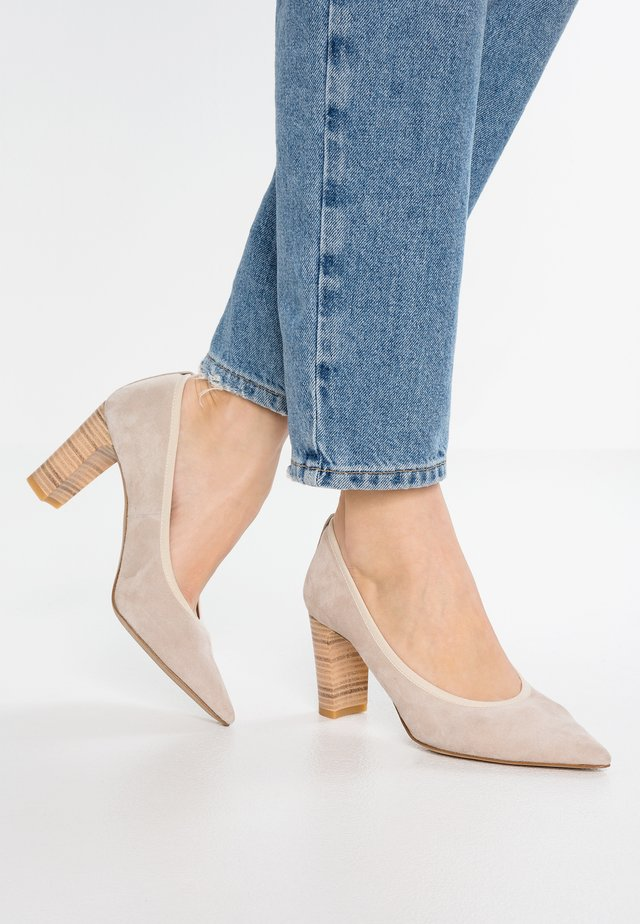 Classic heels - naturel
