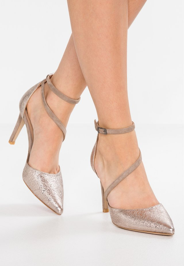 High Heel Pumps - ferrer rose/stone