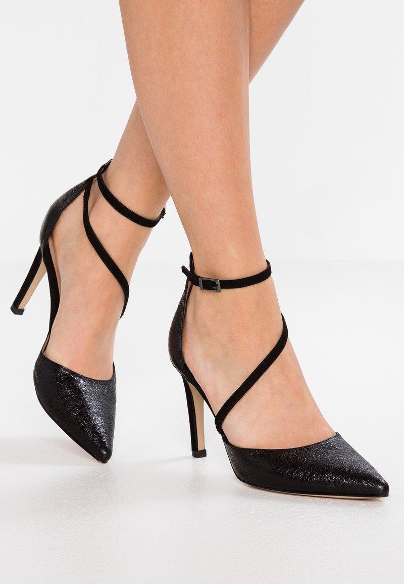 PERLATO - High heels - ferrer/noir