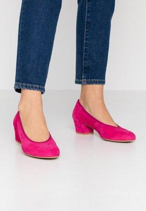 Classic heels - fuxia