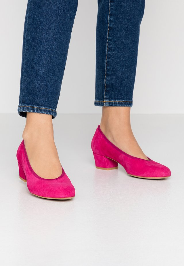 Pumps - fuxia