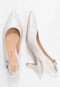 PERLATO - Classic heels - colibri natural - 3