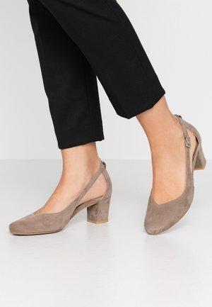 Classic heels - stone