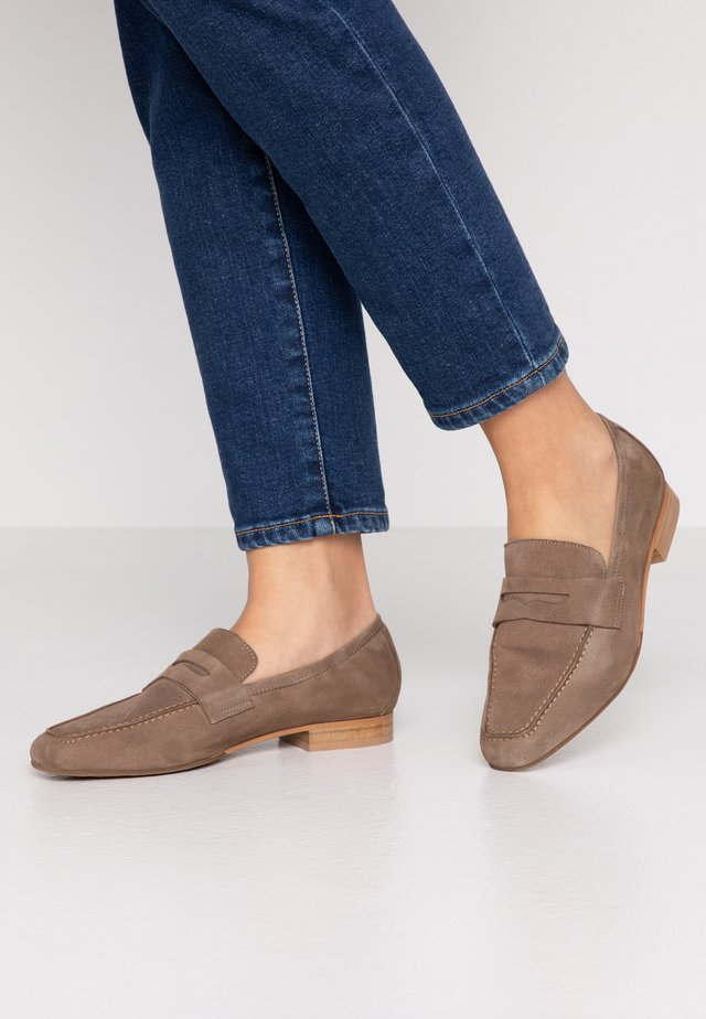 Slippers - stone