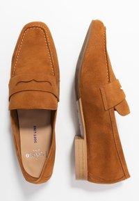 PERLATO - Nazouvací boty - camel - 3