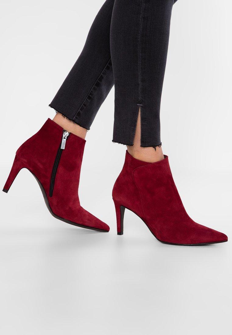 PERLATO - Ankelboots - cam rouge