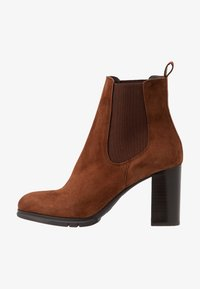 PERLATO - Classic ankle boots - cognac - 1