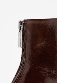 PERLATO - High heeled ankle boots - jamaika cognac - 2