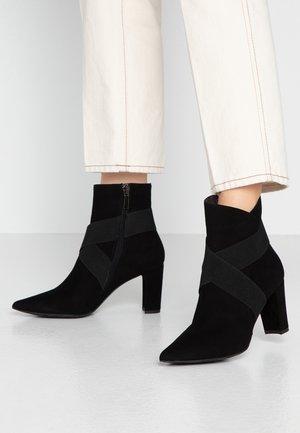 Kotníkové boty - noir