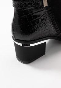 PERLATO - Kotníková obuv - noir - 2