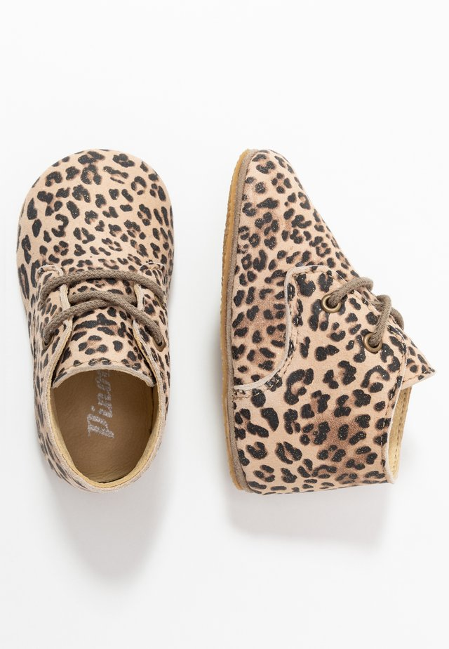 First shoes - beige/glitter