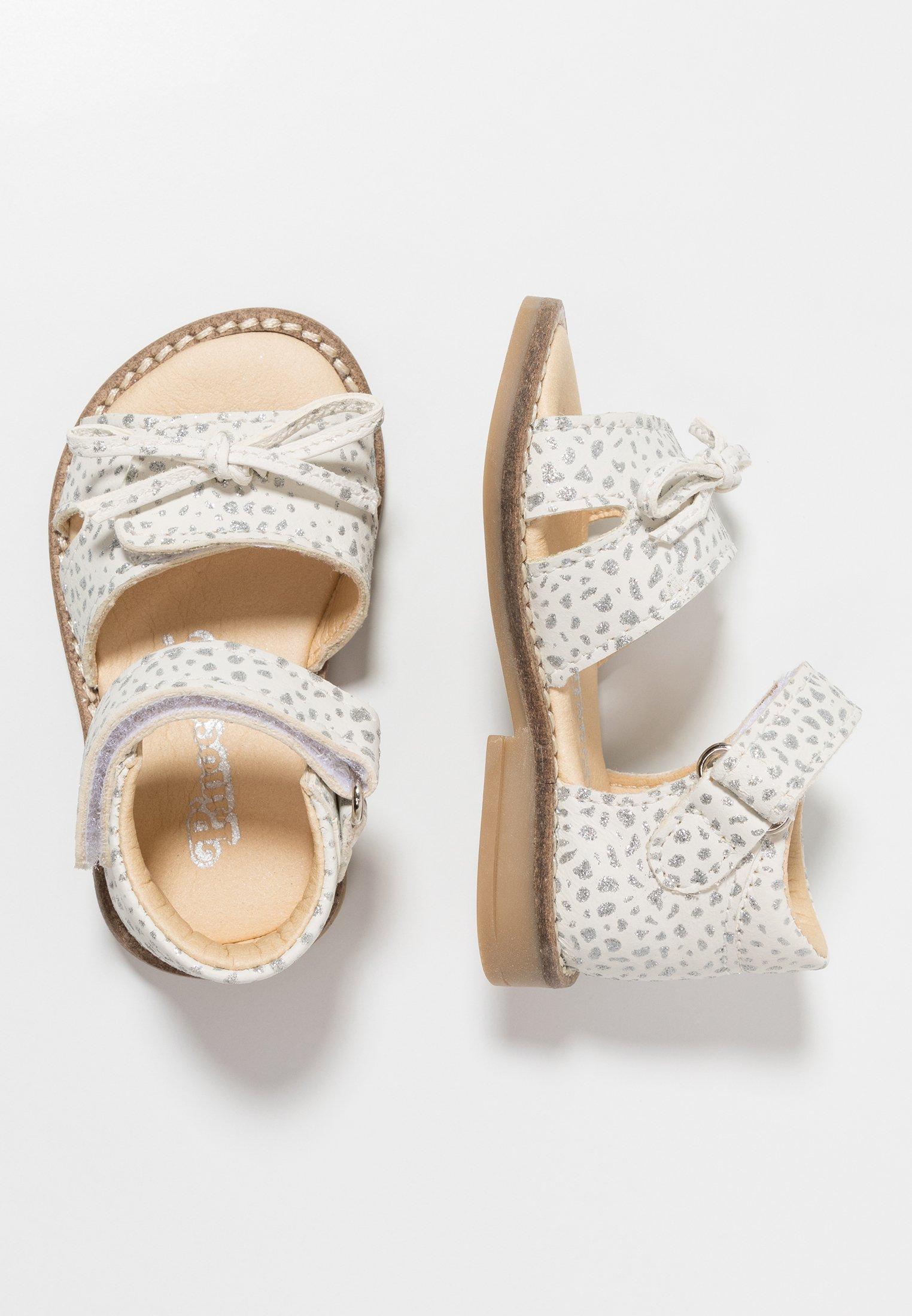 Sandaalit nilkkaremmillä white