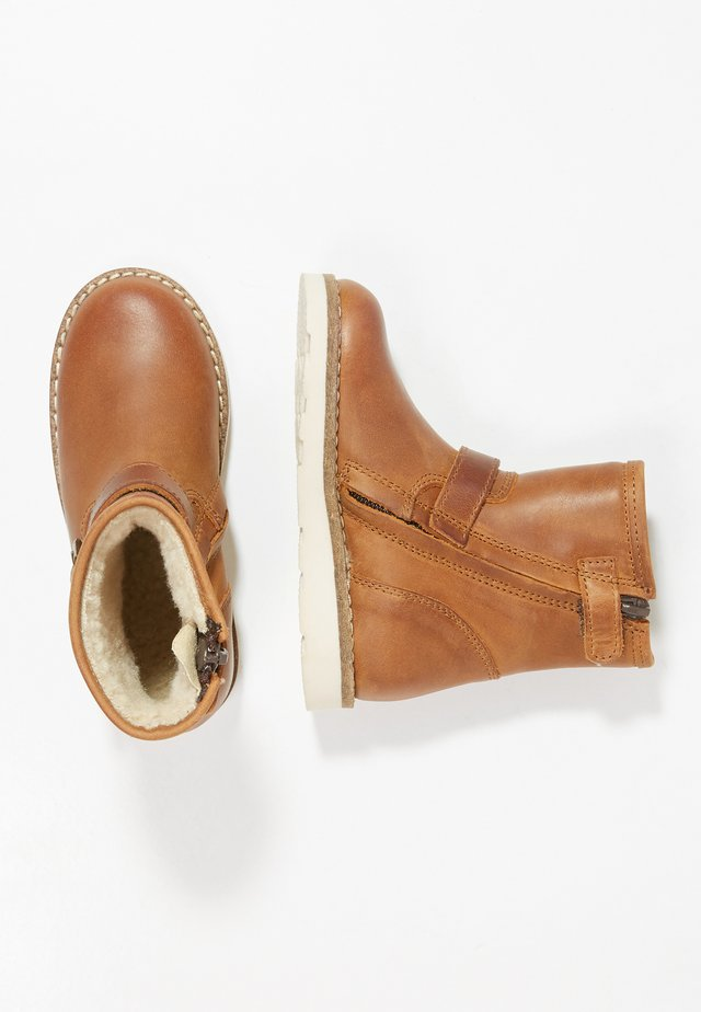 Bottines - mid brown