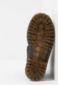 Pinocchio - Šněrovací kotníkové boty - black - 5