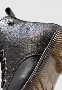 Pinocchio - Šněrovací kotníkové boty - black - 2