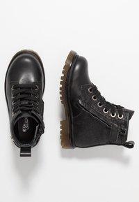 Pinocchio - Šněrovací kotníkové boty - black - 0