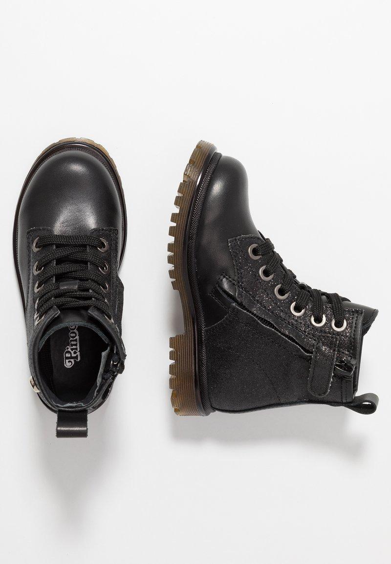 Pinocchio - Šněrovací kotníkové boty - black