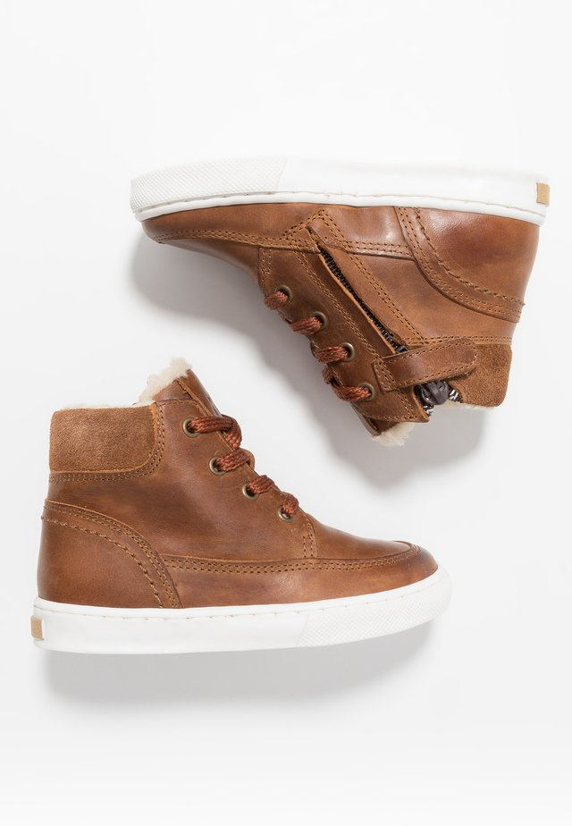 Sneaker high - mid brown