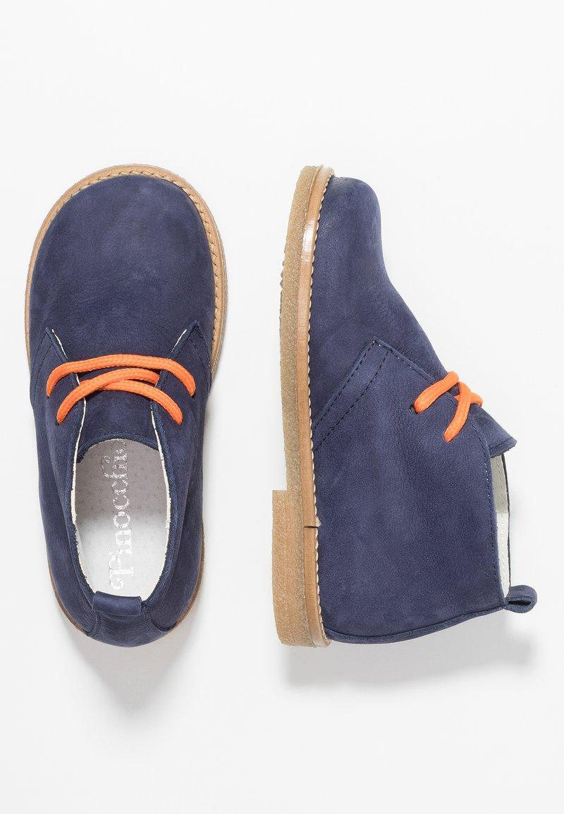 Pinocchio - Volnočasové šněrovací boty - dark blue