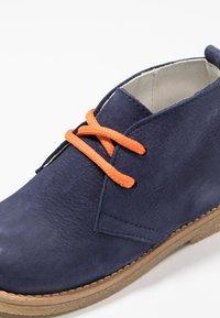 Pinocchio - Volnočasové šněrovací boty - dark blue - 2