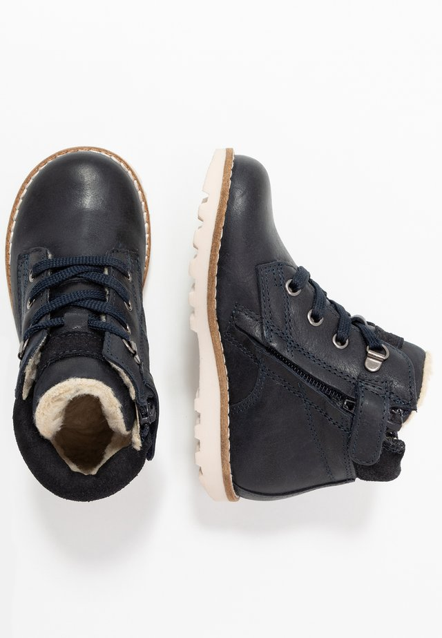 Bottines à lacets - dark blue
