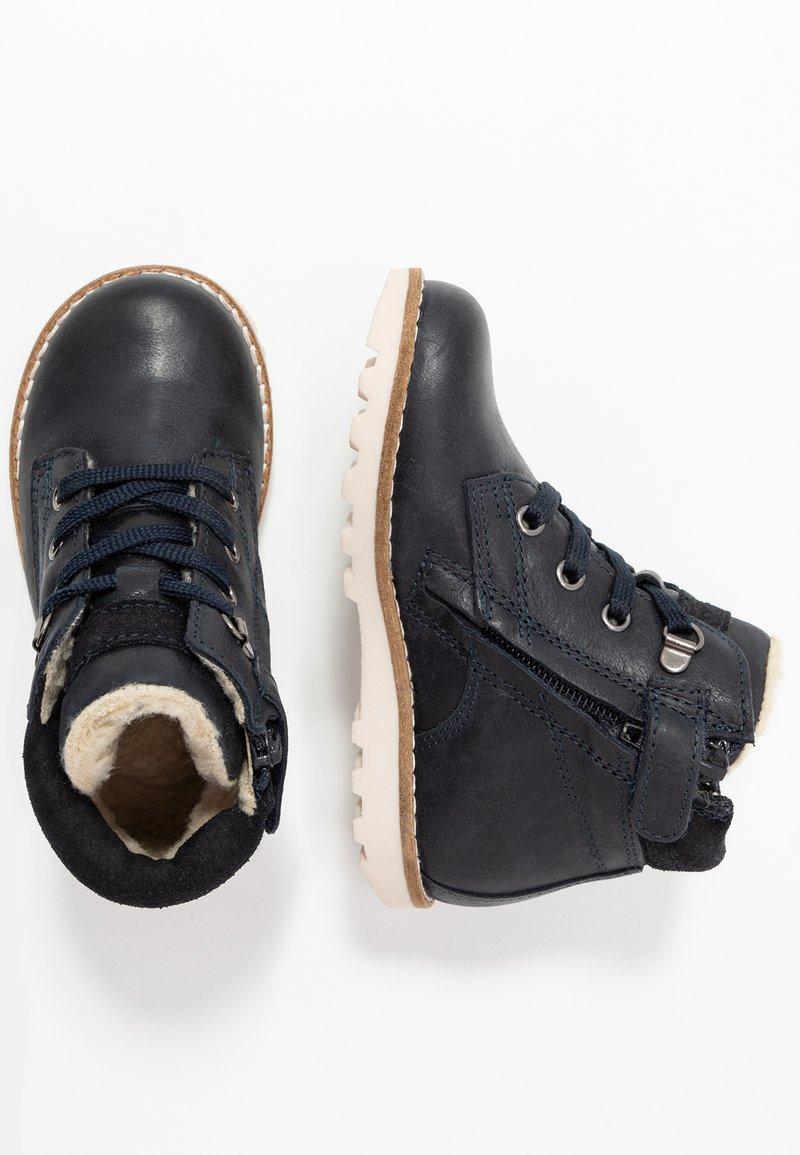 Pinocchio - Šněrovací kotníkové boty - dark blue