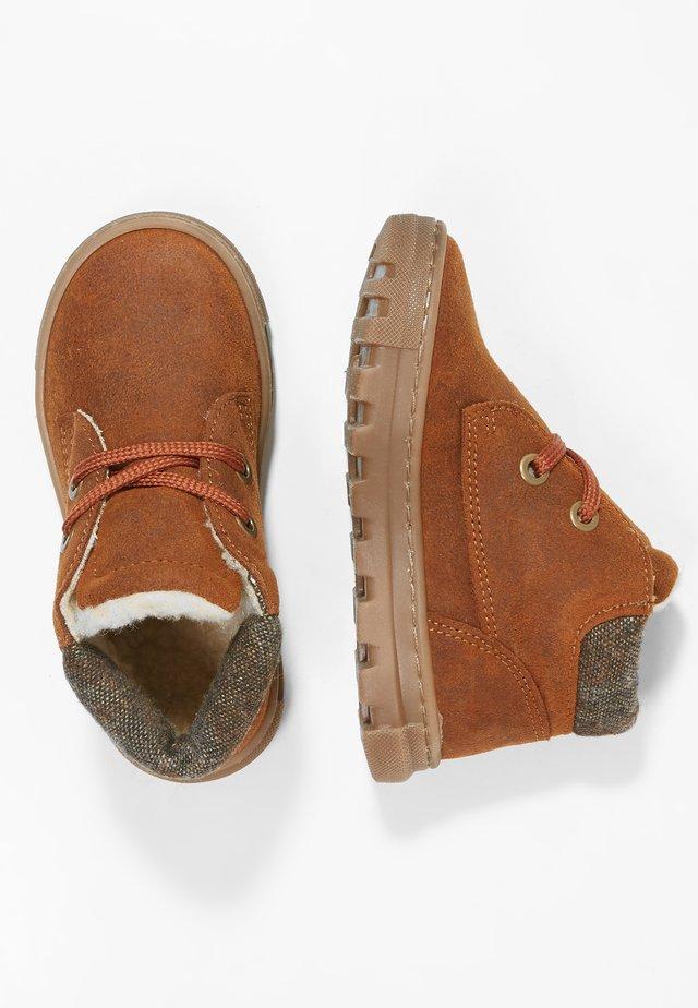 Lära-gå-skor - natural