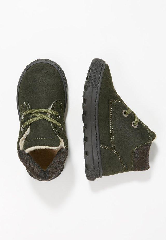 Lära-gå-skor - green