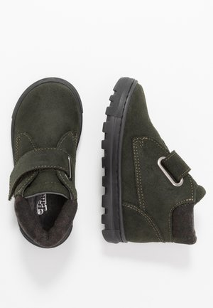 Touch-strap shoes - green