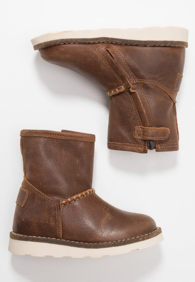 Bottines - chestnut
