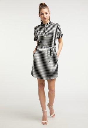 Jersey dress - whisper white