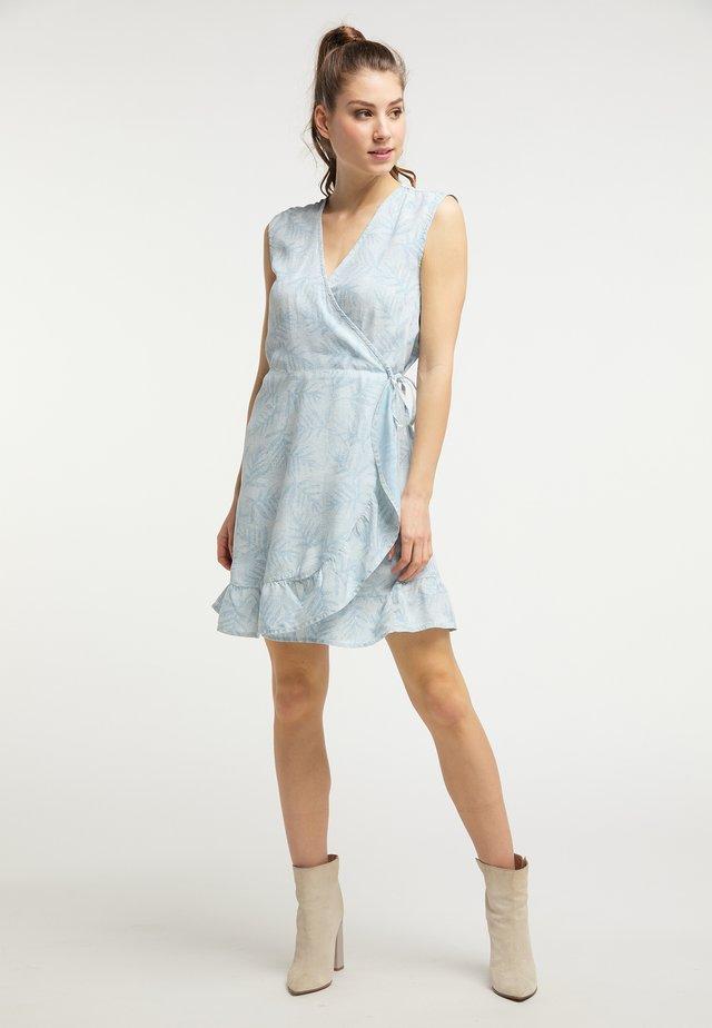 Korte jurk - faded stone